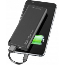 УМБ Cellularline FreePower Slim 5000mAh 1USB 2.1A Black (FREEPSLIM5000K)