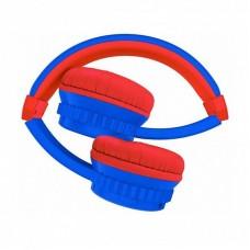Наушники накладные Elari FixiTone Air Blue/Red (FT-2BLU)