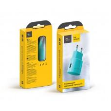 Адаптер сетевой Florence Color 1USB 1A Turquoise (FW-1U010A)