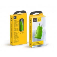 Адаптер сетевой Florence Color 1USB 1A Lime Green (FW-1U010L)