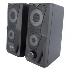 Акустическая система 2.0 Gemix G-200 Black