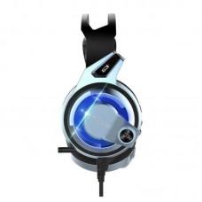 Наушники гарнитура накладные Microlab G3 Black/Blue