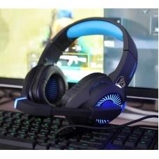 Наушники гарнитура накладные Microlab G4 Black/Blue