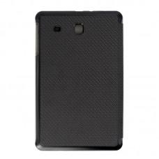 Чехол книжка PU Grand-X для Samsung Tab E 9.6 T560 T561 Carbon Black (GCST560B)