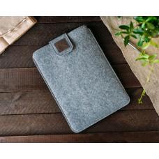 Чехол для ноутбука Felt Gmakin Macbook Air Pro 13.3 Grey/Brown (GM55)