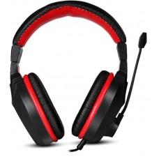 Наушники гарнитура накладные Marvo H8321P Black/Red