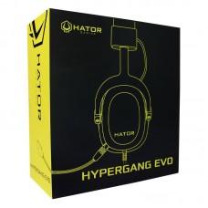Наушники гарнитура накладные Hator Hypergang Evo Black (HTA-810)