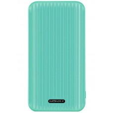 УМБ Momax iPower GO Slim 10000mAh 2USB 2.4A Green (IP56G)