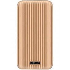 УМБ Momax iPower GO Slim 10000mAh 2USB 2.4A Gold (IP56L)