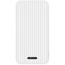 УМБ Momax iPower GO Slim 10000mAh 2USB 2.4A White (IP56W)