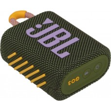 Колонка портативная Bluetooth JBL GO 3 Green (JBLGO3GRN)