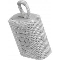 Колонка портативная Bluetooth JBL GO 3 White (JBLGO3WHT)