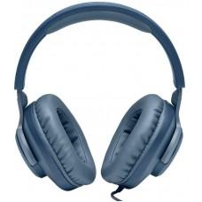 Наушники гарнитура накладные JBL Quantum 100 Blue (JBLQUANTUM100BLU)