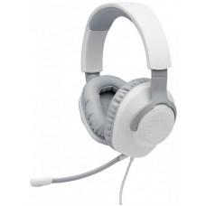 Наушники гарнитура накладные JBL Quantum 100 White (JBLQUANTUM100WHT)