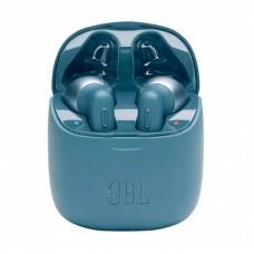 Наушники гарнитура вкладыши Bluetooth JBL T220TWS Blue (JBLT220TWSBLU)