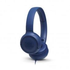 Наушники гарнитура накладные JBL T500 Blue (JBLT500BLU)