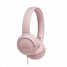 Наушники гарнитура накладные JBL T500 Pink (JBLT500PIK)