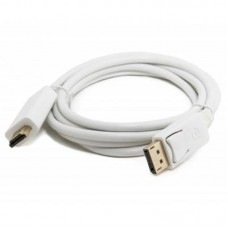 Кабель Extradigital (KBD1669) DisplayPort-HDMI 2m White
