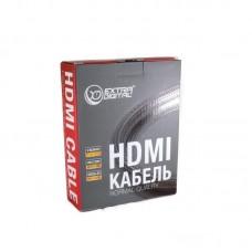 Кабель Extradigital (KBH1746) HDMI-HDMI 3m Black/Red