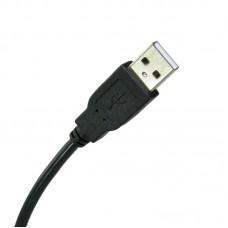 Кабель Extradigital (KBU1627) USB-MiniUSB 2.0 AM 0.5m Black