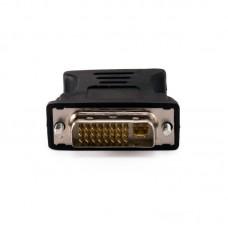 Адаптер DVI-D-VGA Extradigital Black (KBV1687)