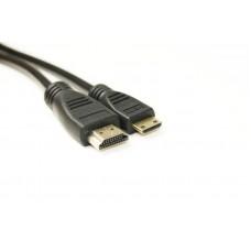 Кабель HDMI-miniHDMI v1.4 PowerPlant 2m Black