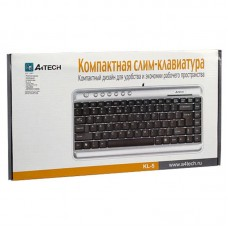 Клавиатура A4Tech KL-5 Silver/Black USB