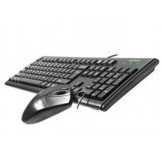 Комплект клавиатура + мышь A4Tech KM-72620D Black USB