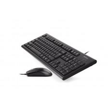 Комплект клавиатура + мышь A4Tech KRS-8520D Black USB