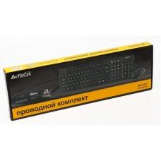 Комплект клавиатура + мышь A4Tech KRS-8572 Black USB
