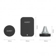 Автодержатель Aukey HD-C5 на решетку Black