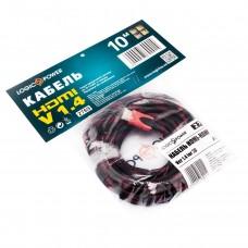 Кабель HDMI-HDMI v1.4 LogicPower 10m Black/Red (LP2769)