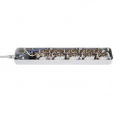 Сетевой фильтр LogicPower 5 розеток 4.5m 10A Grey LP-X5 (LP3302)