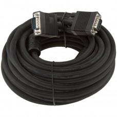Кабель VGA-VGA LogicPower 10m Black (LP3690)