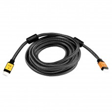 Кабель HDMI-HDMI v2.0 LogicPower 5m Black/Gold (LP5781)