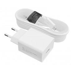 Зарядное устройство сетевое LogicPower 1USB 2.4A АС-012 White (LP9624) + cable MicroUSB