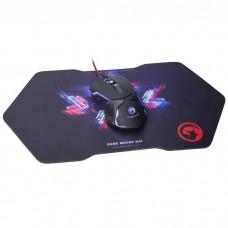 Мышь Marvo M309 + игровая поверхность G1 Black (M309+G1) USB