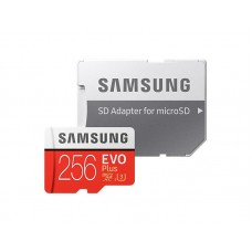 Карта памяти MicroSDXC 256GB UHS-I U3 Class 10 Samsung Evo Plus R100/W90MB/s + Adapter SD