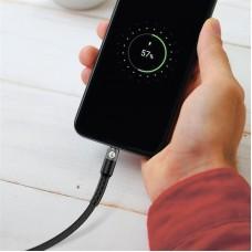 Кабель USB-MicroUSB MakeFuture 2.4A 1m Denim Grey (MCB-MD1GR)
