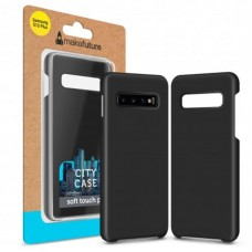 Чехол накладка PC MakeFuture City для Samsung S10 Plus G975 Black (MCC-SS10PBK)
