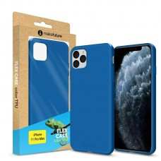 Чехол накладка TPU MakeFuture Flex для iPhone 11 Pro Max Blue (MCF-AI11PMBL)