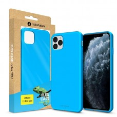 Чехол накладка TPU MakeFuture Flex для iPhone 11 Pro Max Light Blue (MCF-AI11PMLB)