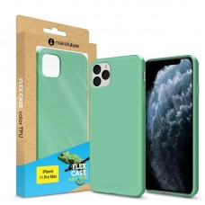 Чехол накладка TPU MakeFuture Flex для iPhone 11 Pro Max Olive Turquoise (MCF-AI11PMOL)