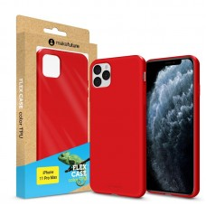Чехол накладка TPU MakeFuture Flex для iPhone 11 Pro Max Red (MCF-AI11PMRD)