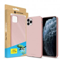 Чехол накладка TPU MakeFuture Flex для iPhone 11 Pro Max Rose (MCF-AI11PMRS)