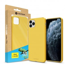 Чехол накладка TPU MakeFuture Flex для iPhone 11 Pro Max Yellow (MCF-AI11PMYE)