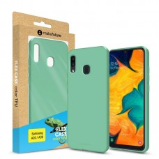 Чехол накладка TPU MakeFuture Flex для Samsung A30 A305 Olive Turquoise (MCF-SA205OL)