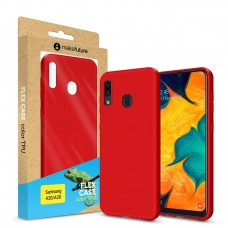 Чехол накладка TPU MakeFuture Flex для Samsung A30 A305 Red (MCF-SA205RD)