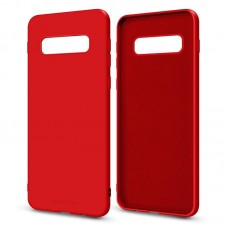 Чехол накладка TPU MakeFuture Flex для Samsung S10 Plus G975 Red (MCF-SS10PRD)