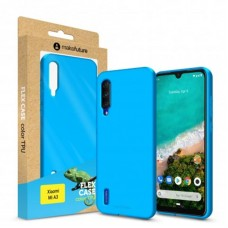 Чехол накладка TPU MakeFuture Flex для Xiaomi Mi A3 Light Blue (MCF-XMA3LB)